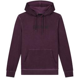 Rode hoodie Dyed Regular
