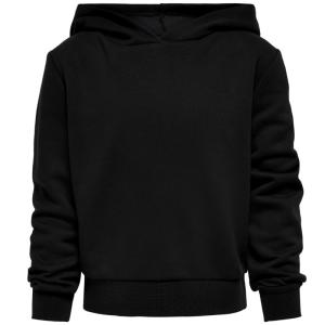 Zwarte rock hoodie Johanne