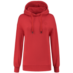 Rode hoodie NIKKIE Round Art