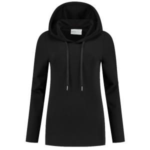 Zwarte hoodie Transfer