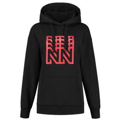 Zwarte hoodie Urban