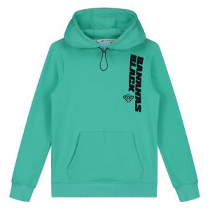 Aquablauwe hoodie Verso