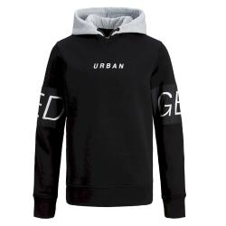 Zwarte hoodie Victory