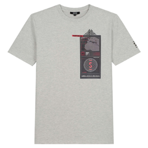 Lichtgrijs regular t-shirt HQ