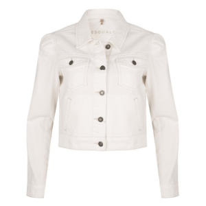 Witte jacket Cropped