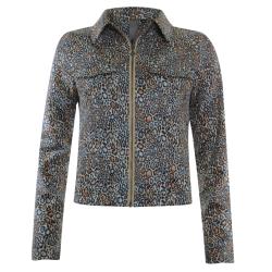 Geprinte jacket 13199