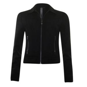 Zwarte biker jacket 33194