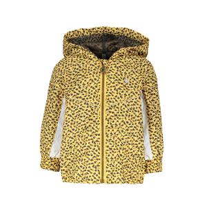 Gele geprinte panter jacket 7205