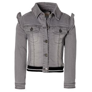 Grijze jacket Fieke
