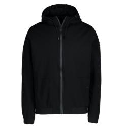 Zwarte jas Mefush