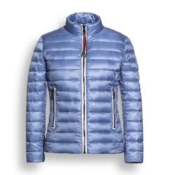 Lichtblauwe jacket Muscat - 128