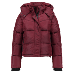 Rode coat Preppy Puffer