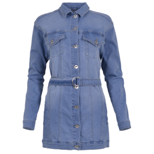 Lichtblauwe jacket Sandra