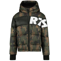 Camouflage groene jacket Tacoma