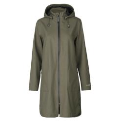Groene coat RAIN128
