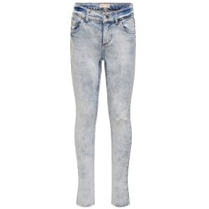 Lichtblauwe destroyed jeans Blush