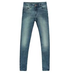 Green tinted denim jeans Diego