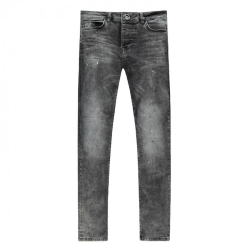 Black Spotted jeans Dust