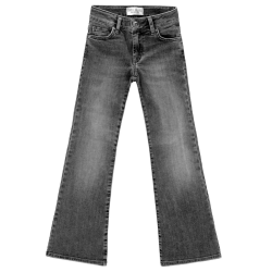 Zwarte flair jeans Veronique