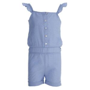 Blauw gestreepte jumpsuit Fetske