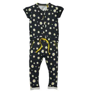 Zwart geprinte jumpsuit Glitter