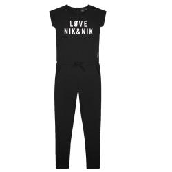 Zwarte jumpsuit Love - 116