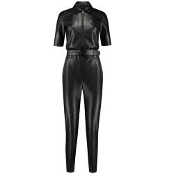 Zwarte jumpsuit Mella