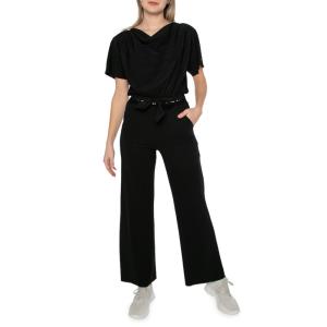 Zwarte tape zip73 jumpsuit