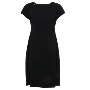 Zwarte korte eco jurk