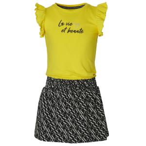 Gele jurk Falijne