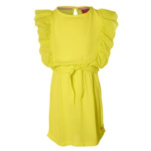 Lime gele jurk Fancy
