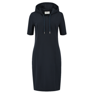 Blauwe hoodie jurk Transfer