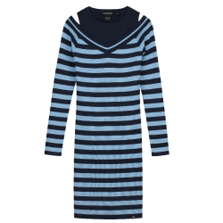 Blauwe jurk Jordynn