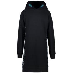 Zwarte hoodie jurk Juline - 128