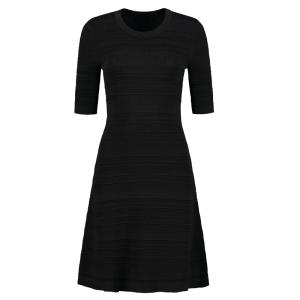 Zwarte jurk Karla