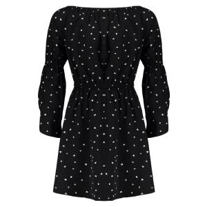 Zwarte jurk Sanne