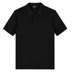 Zwarte polo Knit