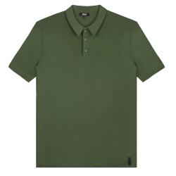 Groene polo Knit