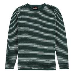 Groen gestreepte knit Structure