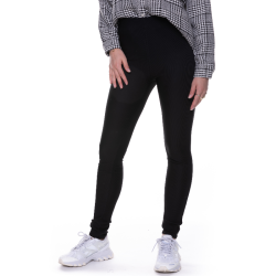 Zwarte rib broek Janelle