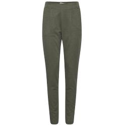 Groene pantalon Kate Herringbone