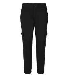 Zwarte pantalon Nanni Cargo