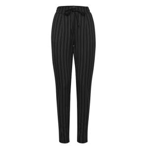 Zwart gestreepte broek Ruti
