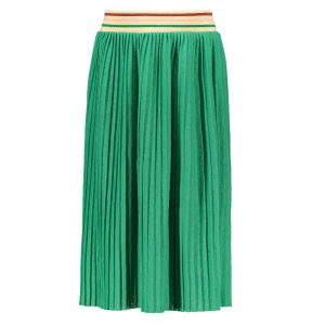Groene plisse maxi rok 5740