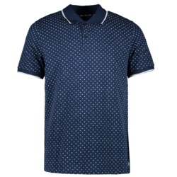 Donkerblauwe polo Lody