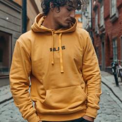 Gele hoodie RBL AMS - XL
