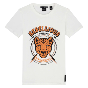 Wit t-shirt Rebellious