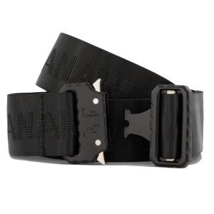 Zwarte clip belt