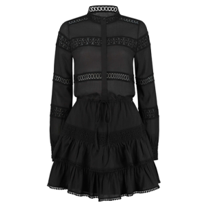 Zwarte jurk Sadie