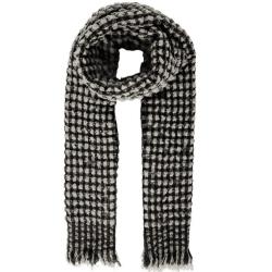 Beige geprinte sjaal Rosemary